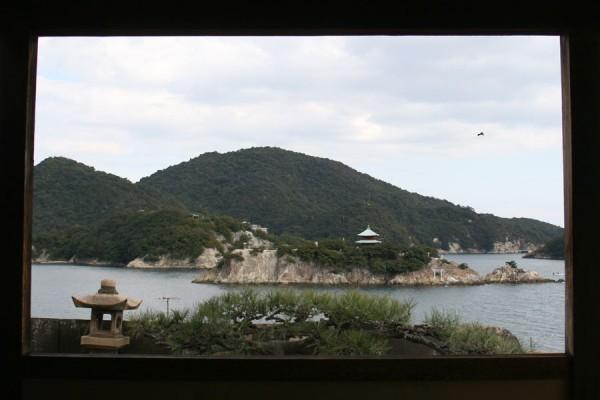 対潮楼から仙酔島