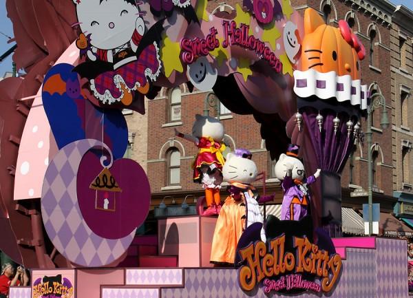 ハロウィーン•キャラクター•パレード43