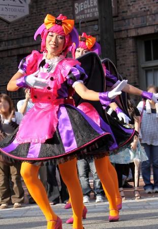 ハロウィーン•キャラクター•パレード48