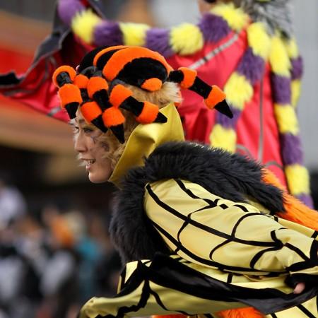 ハロウィーン•キャラクター•パレード•ダンサー6