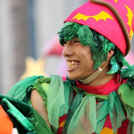 ハロウィーン•キャラクター•パレード•ダンサー11