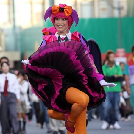 ハロウィーン•キャラクター•パレード•ダンサー50