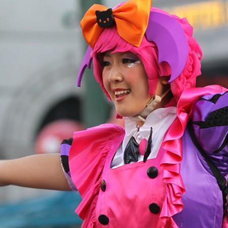 ハロウィーン•キャラクター•パレード•ダンサー52