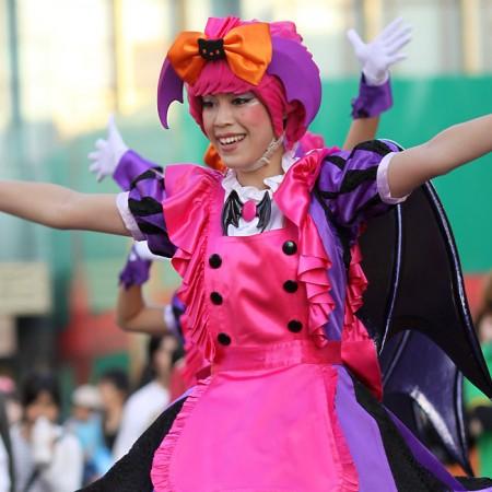 ハロウィーン•キャラクター•パレード•ダンサー48