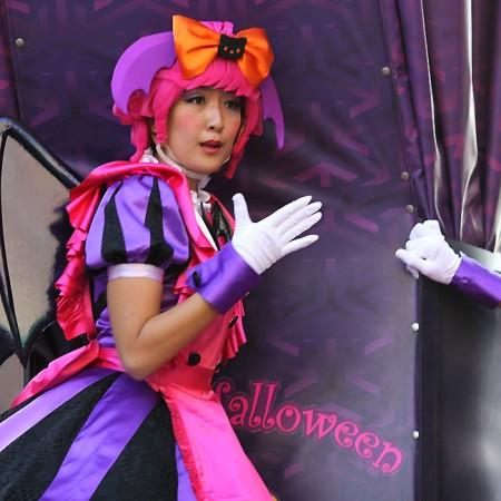 ハロウィーン•キャラクター•パレード•ダンサー56